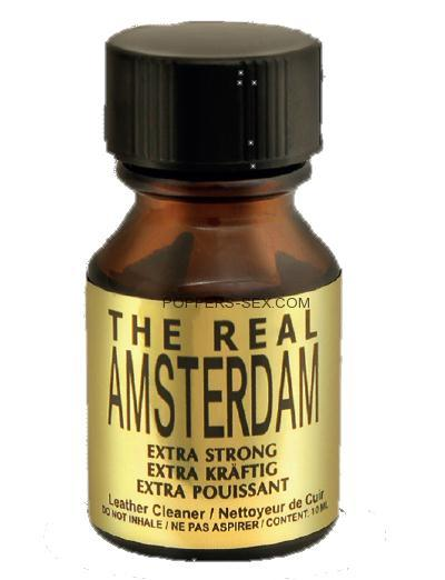 POPPERS - REAL AMSTERDAM EXTRA STRONG (10ml)