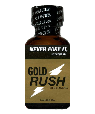 POPPERS - GOLD RUSH BIG (24 ml)