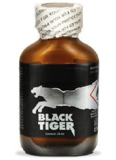 POPPERS - BLACK TIGER SILVER (24ml)